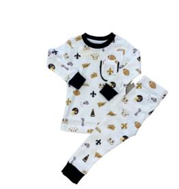 Nola Tawk Let's Geaux Saint Two Piece Pajamas