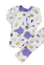 Nola Tawk Let's Geaux Tigers Pajamas