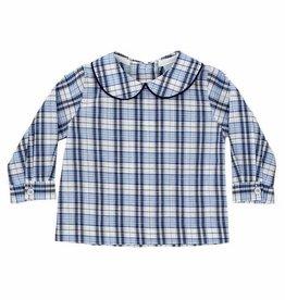 The Bailey Boys Boys Piped Shirt in Buxton Plaid