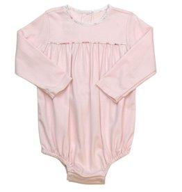 LullabySet Mother May I Bubble - Light Pink Pima