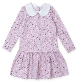 Lila and Hayes Lillian Dress Berry Floral