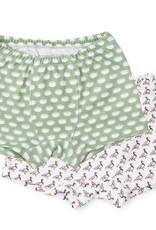 Lila and Hayes James Underwear Footballs/Mallard