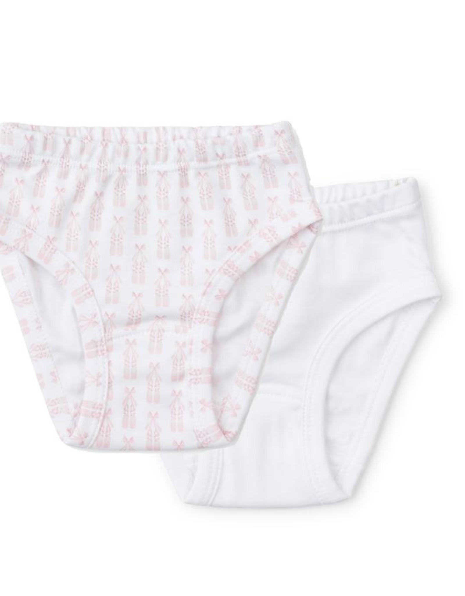 Lila and Hayes Lauren Underwear Ballerina/White