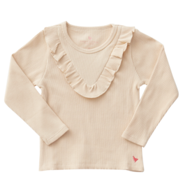 Pink Chicken Organic Marly Top in Cream