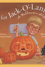 J Is For Jack-O-Lantern Book