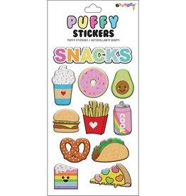 Iscream Snacks Puffy Stickers