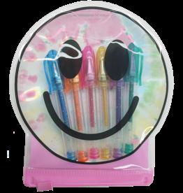 Iscream Happy Face Mini Gel Pen Set