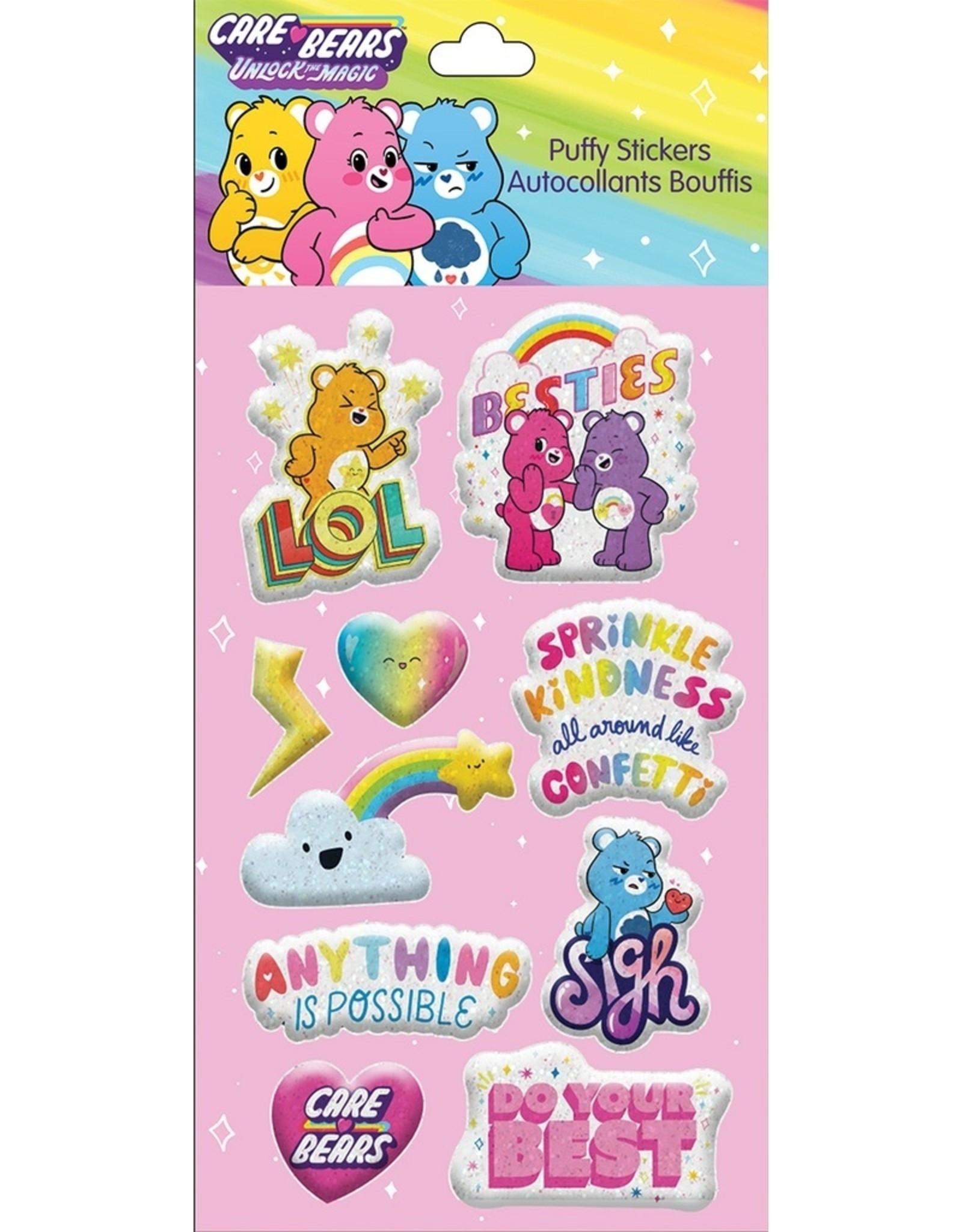 Iscream Besties Care Bear Puffy Stickers