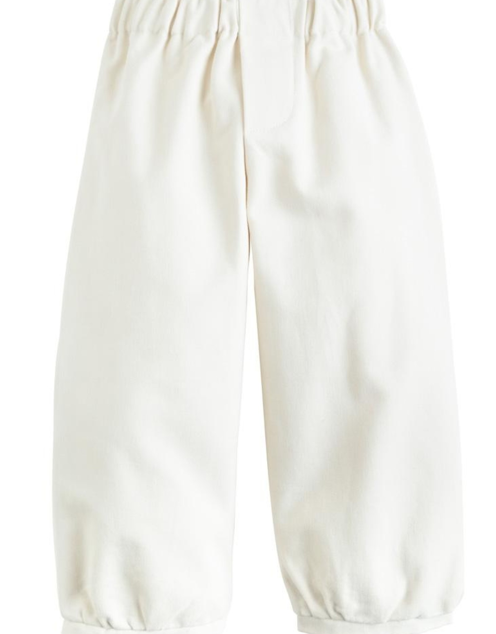 Little English Banded Pull On Pant - Pebble Twill