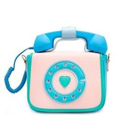 Bewaltz Ring Ring Phone Convertible Handbag in Mermaizing Blue
