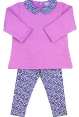Grace And James Kids Hadley Floral Sweater And Legging Set