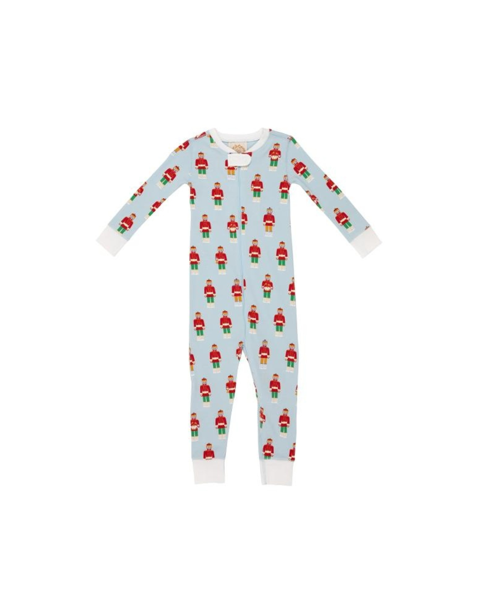 The Beaufort Bonnet Company Knoxs Night Night Non-Footed North Pole Prince 2t