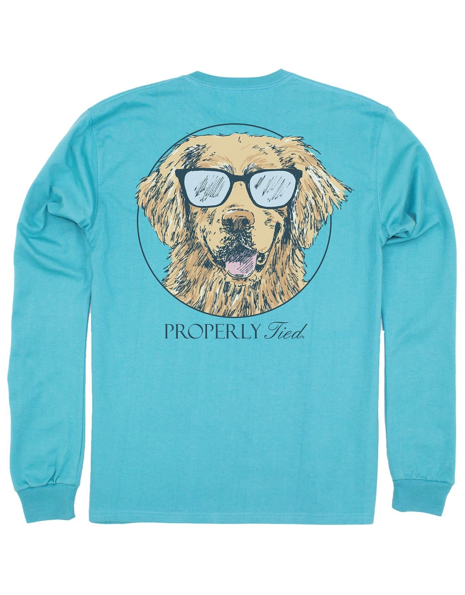 Properly Tied Cool Dog LS Emerald