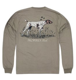 Properly Tied Pointer LS Tan