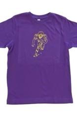 Honey Bee Tees LSU Football Player Short Sleeve Tee