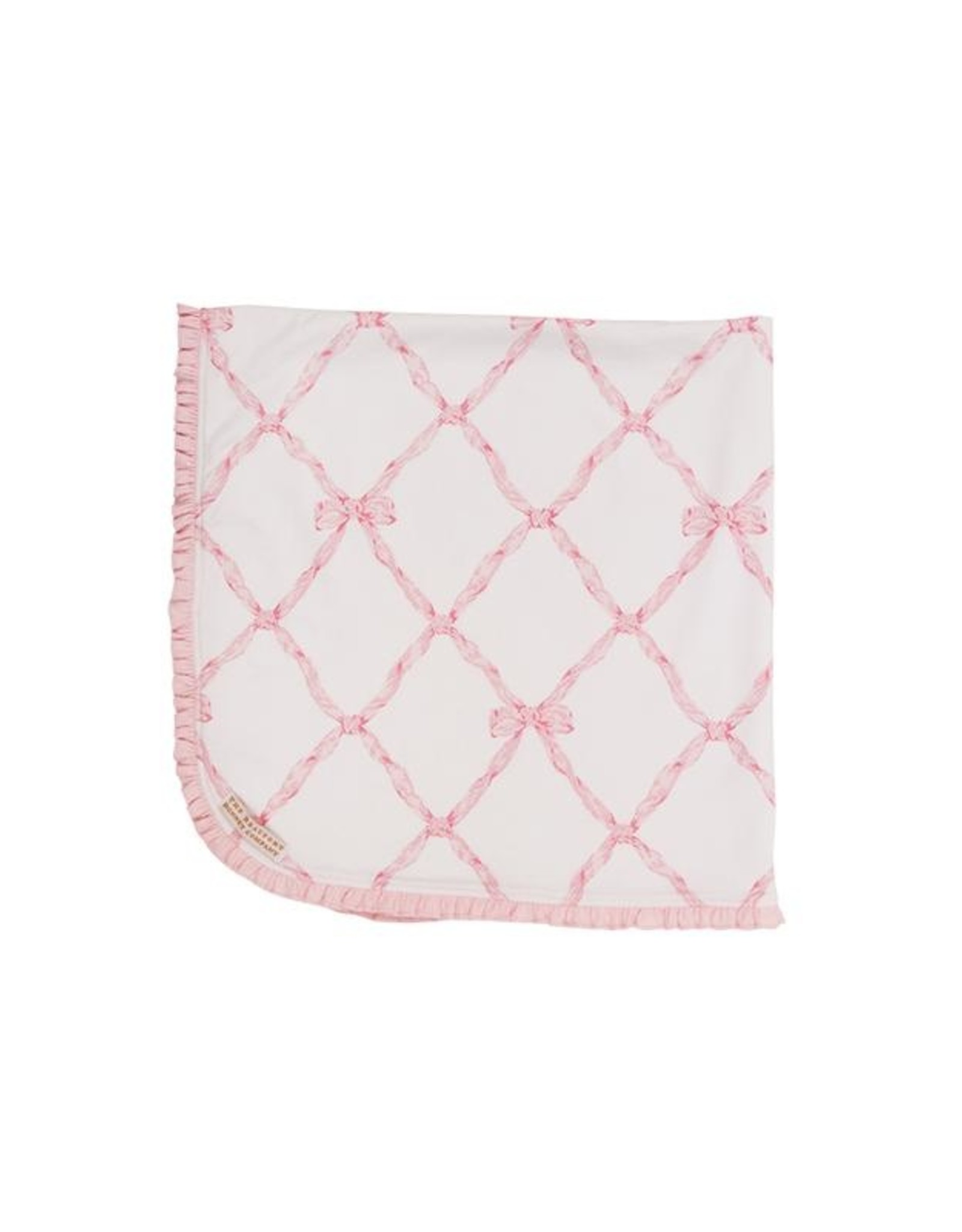 The Beaufort Bonnet Company Baby Buggy Blanket Belle Meade Bow