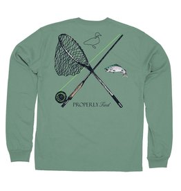 Properly Tied Trout Fishing LS Ivy