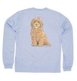 Properly Tied Goldendoodle LS Periwinkle