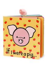 """Jelly Cat """"If I were a Pig"""" Board Book"""