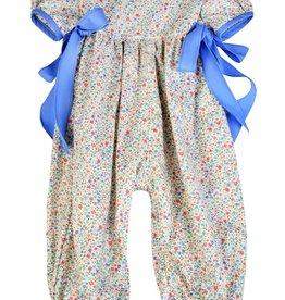Funtasia Too Blue/Pink Floral Romper