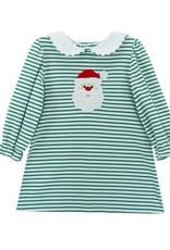 Zuccini Green Stripe Santa Louisa Dress