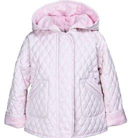Widgeon Hooded Barn Jacket - Light Pink