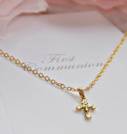 Collectables Gold Crucifix First Communion Necklace