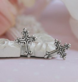 Collectables Sterling Silver Cross Earrings
