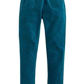 Bisby Pocket Pull on Pant - Turquoise Velvet