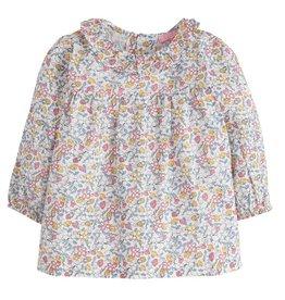 Bisby Caroline Blouse - Highgrove Garden Pink