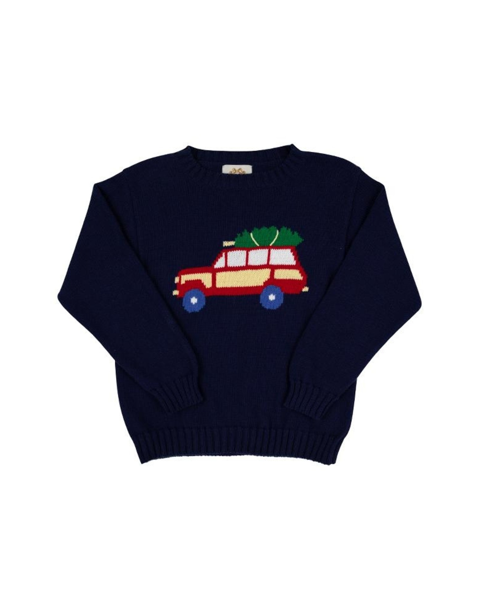 The Beaufort Bonnet Company Isaacs Intarsia Jeep Sweater
