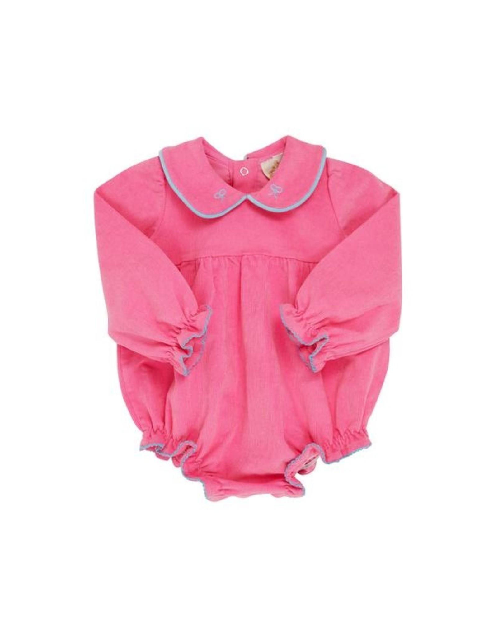 The Beaufort Bonnet Company LS Britt Bubble, Hamptons Hot Pink Cord