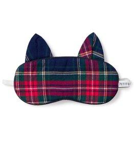 Petite Plume Children's Windsor Tartan Kitty Eye Mask