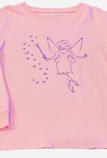 Mustard & ketchup LS Light Pink Fairy Tshirt