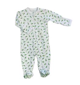 Le Petit Em Alligator Footie Pajamas