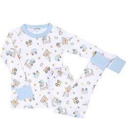 Magnolia Baby Work Zone Long Pajama Set