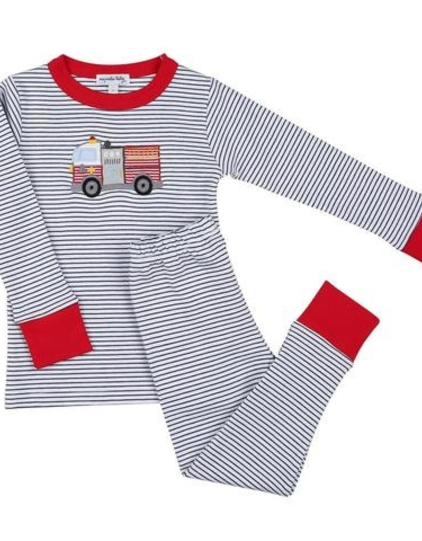 Magnolia Baby Hook and Ladder 2-Piece PJ