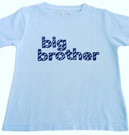 Mustard & ketchup SS Big Brother Tshirt Blue/Navy