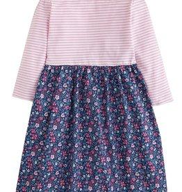 Bisby Rosie Dress in Highgrove Garden Navy