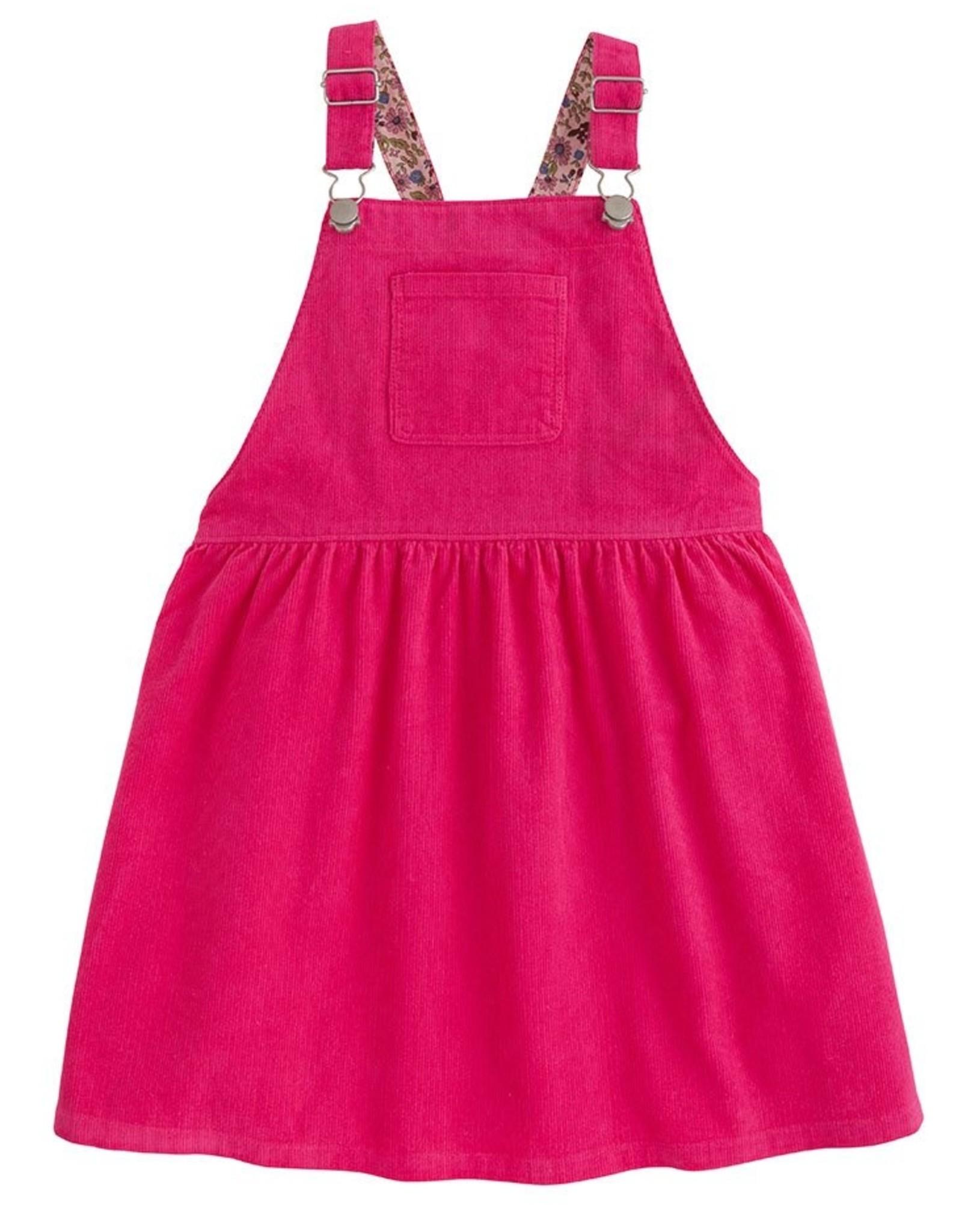 Bisby Hot Pink Cord Pippa Pinnafore