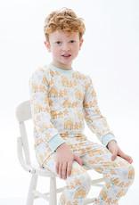 Little Louanne Gingerbread 2Piece Pajamas
