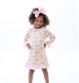 Little Louanne Gingerbread Gown