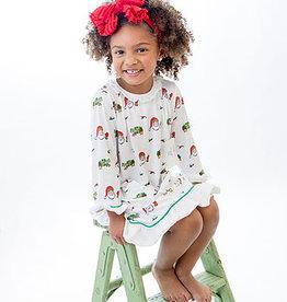 Little Louanne Papa Noel Gown