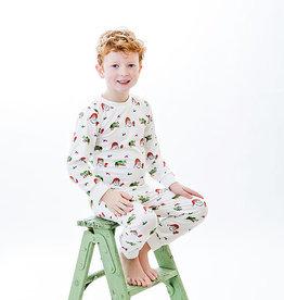 Little Louanne Papa Noel 2Piece Pajamas