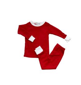 Magnolia Baby Solid Red 2-Piece PJ