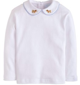 Little English L/S Pinpoint Lab Shirt