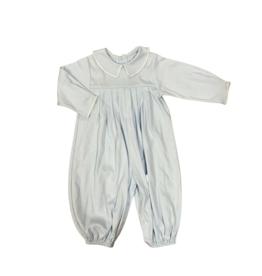 Auraluz Blue Knit Longall White Trim 6654