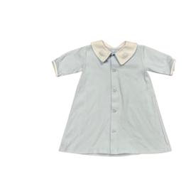 Auraluz Knit Blue Daygown Lambs 6352