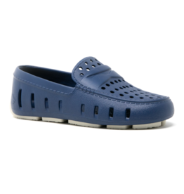 Floafers Prodigy Driver Navy Peony/White