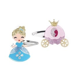Lillies&Roses Cinderella And Carraige Clips